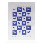 RAIN GOOSE RAIN GOOSE Bird Tea Towel - Blue