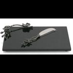 MICHAEL ARAM MICHAEL ARAM Black Orchid Cheese Board & Knife