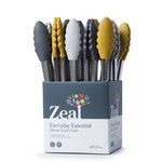 """ZEAL ZEAL Chic Silicone Tongs 10"""""""