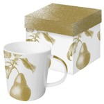 PAPER PRODUCTS DESIGN Engraved Pear Mug DISC