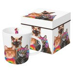 PAPER PRODUCTS DESIGN Groovy Cats Mug