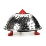 """RSVP RSVP Vegetable Steamer with Silicone Feet 12"""" - Stainless"""