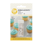 WILTON WILTON Edible Accents Stars - Silver