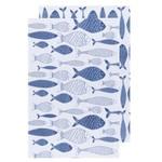 NOW DESIGNS NOW DESIGN Fish Floursack Tea Towel - Royal
