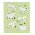 NOW DESIGNS ECOLOGIE Swedish Dishcloth - Goats