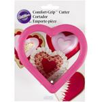 WILTON WILTON Comfort Grip Heart Cookie Cutter
