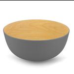 BRILLIANT BRILLIANT Bamboo Bowl 30cm - Maple / Grey