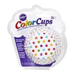 WILTON WILTON Baking Cups - Rainbow Dots