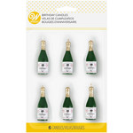 WILTON WILTON Champagne Bottle Birthday Candle 6pc