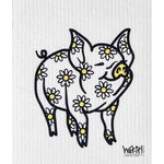 WET-IT Swedish Cloth Daisy Pig