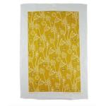 RAIN GOOSE RAIN GOOSE Bee Tea Towel - Gold