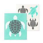 ABBOTT ABBOTT Sea Turtles Swedish Dishcloth S/2