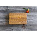"""LARCHWOOD LARCHWOOD Small One Hander Cutting Board 14x2x9"""""""