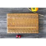 """LARCHWOOD LARCHWOOD  Large One Hander Cutting Board 15x9.5x1.5"""""""