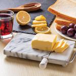 FOX RUN FOX RUN Marble Cheese Slicer - White / Grey