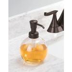 INTERDESIGN INC. INTERDESIGN York Soap Pump - Clear / Bronze