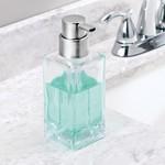 INTERDESIGN INC. INTERDESIGN Casilla Foaming Soap Pump - Clear / Brushed SS