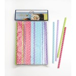 RSVP RSVP Paper Straws 100 - Dotted