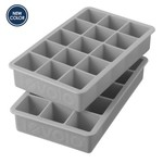 TOVOLO Perfect Cube Ice Tray S/2 - Oyster