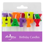 CANDLE HAPPY BIRTHDAY LETTERS