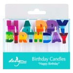 CANDLE COLOUR BLOCK BIRTHDAY