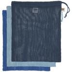 NOW DESIGNS NOW DESIGNS Le Marche Produce Bags S/3 - Marine