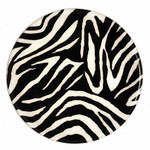 ANDREAS ANDREAS Zebra Round Trivet DNR