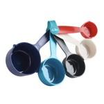 TRUDEAU TRUDEAU Measuring Cups S/5 - Assorted Colours