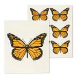 ABBOTT ABBOTT Monarch Butterfly Swedish Dishcloth S/2