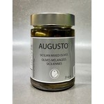 AUGUSTO AUGUSTO Sicilian Mixed Olives 314ml