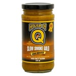 HOUSE OF Q HOUSE OF Q Slow Smoke Gold BBQ Sauce 375ml DNR