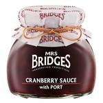 MRS BRIDGES MRS BRIDGES Cranberry Sauce with Port 250g