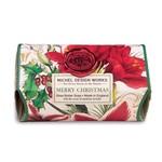 MICHEL DESIGN WORKS MICHEL DESIGN Large Bath Soap - Merry Christmas