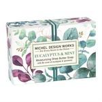 MICHEL DESIGN WORKS MICHEL DESIGN Boxed Soap 4.5oz - Eucalyptus & Mint