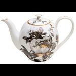 JL BRADSHAW JL BRADSHAW Black Peony Teapot