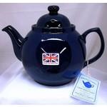 JL BRADSHAW JL BRADSHAW  Blue Betty Teapot 2 cup