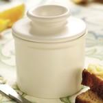 Retro Butter Bell - Matte Ivory