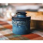 Antique Butter Bell - Demin Blue