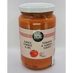 ZOE IMPORTS ZOE Tomato & Garlic Sauce 350g