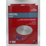 CDN CDN ProAccurate Digital Scale 5kg/11lbs - Red