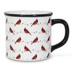 """ABBOTT ABBOTT Mug 4"""" - White / Red Cardinals"""