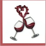 QCARD A Toast To Love