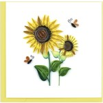 QCARD Birthday Sunflowers