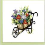 QCARD QCARD  Wheelbarrow Garden