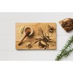 CASAFINA SCOTTISH MADE Bees Oak Serving Board 30cm