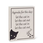 "ABBOTT ABBOTT Block Medium - ""Agenda Cat"""