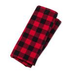 ABBOTT ABBOTT Cloth Napkin  - Buffalo Check Red