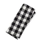 ABBOTT ABBOTT Cloth Napkin  - Buffalo Check Black / White