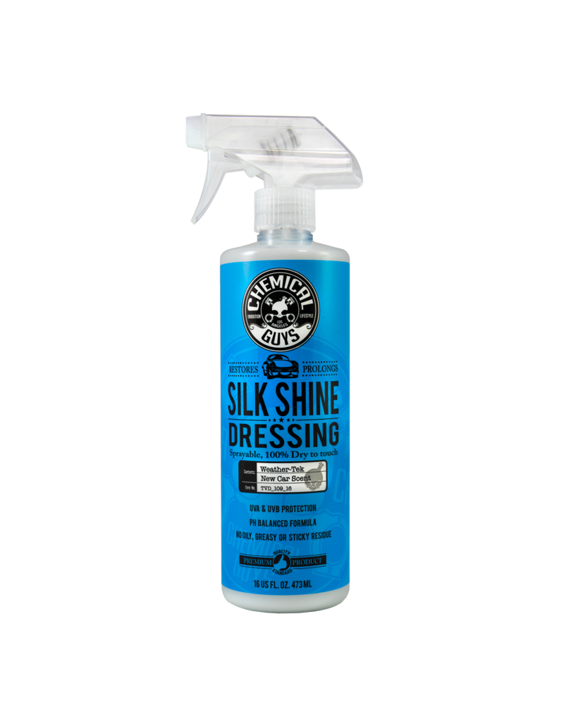 Chemical Guys TVD_109_16 Silk Shine Spray Dressing Natural Shine Dressing+Protectant (16 oz)