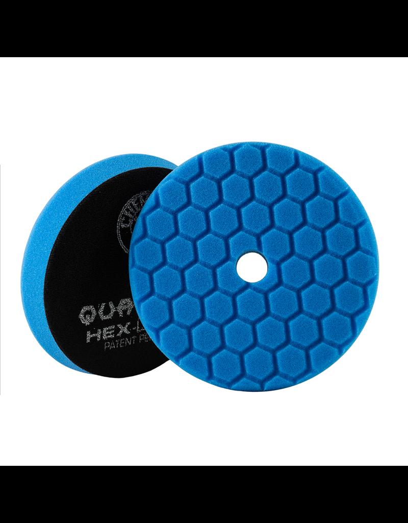 Hex-Logic BUFX115HEX6 Hex-Logic Quantum Buffing Pad -Blue -6.5''
